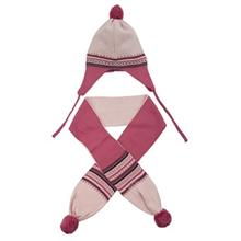 Fiorella 1624P Baby Hat And scarf Set