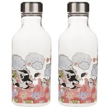 Ziba Sazan Oval Milk Bottle - Pack Of 2