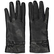 دستکش زنانه چرم مشهد مدل Black R0160
