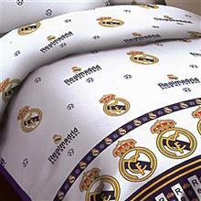 سرويس خواب کارينا مدل Real Madrid يک نفره 4 تکه