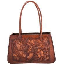 کیف زنانه چرم طبیعی کارگاه پوریا چرم