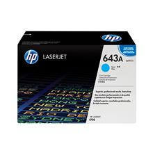 (HP Original Laserjet Toner Cartridge Cyan 643A (Q5951A
