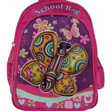 کیف کوله پشتی مدرسه ای پروانه کدMB701