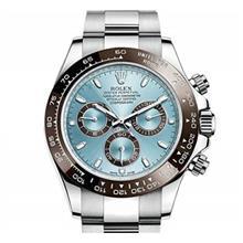 ساعت مچی مردانه رولکس مدلRolex Cosmograph Daytona Ice Blue Dial Platinum Mens Watch 116506IBLSO