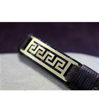 دستبند چرم مردانه کد112 گالری سان سیلور