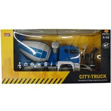 ماشين بازي کنترلي ام زد مدل City Truck Mixer