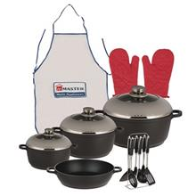 Master Die Cast MHA Cookware Set 17 Pcs