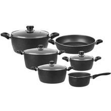 Uranus Nastaran Chorok 10 Pieces Cookware Set