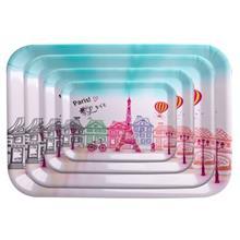 سینی مهروز مدل پاریس 2 مجموعه 4 عددی