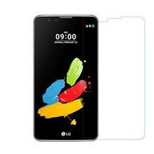 محافظ صفحه نمایش شیشه ای آر جی مناسب برای گوشی موبایل ال جی Stylus 2