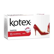 تامپون کوتکس (Kotex) مدل Normal بسته 16 عددی