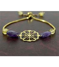 دستبند زنانه کد117 گالری -سان-سیلور