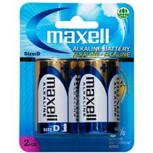 Maxell Alkaline D Battery Pack Of 2