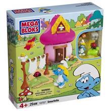 ساختني مگا بلاکس مدل Smurfette 10707