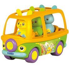 اسباب بازي آموزشي تامي مدل اتوبوس حيوانات آواز خوان