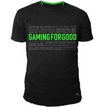 تی شرت مردانه ریزر مدل Gaming For Good سایز ایکس لارج