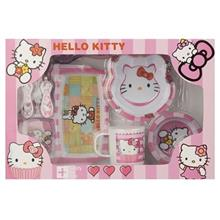 Kidcare Hello Kitty Baby Feeding Set 8 Pcs