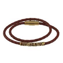 دستبند طلا کیا گالری مدل اکلی گلدار