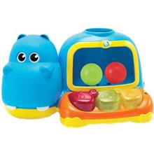Blue Box Hippo Poppin Piano Pal Toys
