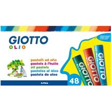 پاستل روغني 48 رنگ جيوتو مدل Olio