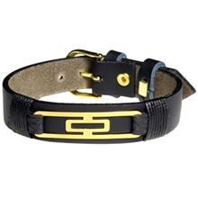 دستبند طلا 18 عیار سیم و گوهر مدل GLP127