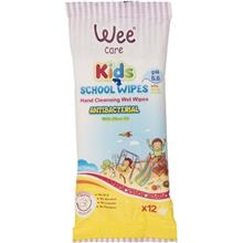 Wee Kids Hand Anti Bacterial Cleansing Wet Wipes 12pcs
