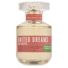 ادو تویلت زنانه بنتون مدل United Dreams Just United حجم 80 میلی لیتر