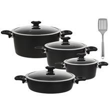 Karal Super Hardanodized Premium Larma Cookware Set 8 Pieces