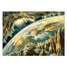 تابلوی ونسونی طرح Surrounded Earth سایز 30x40