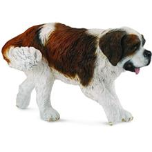 Collecta St Bernard Doll Length 9.5 Centimeter