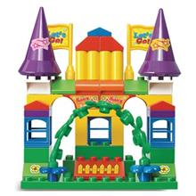 اسباب بازي ساختني اسلوبان مدل Kiddy Bricks Amusement Park M38-B6009