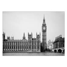 تابلوی ونسونی طرح Palace of Westminster Skyline سایز 50x70