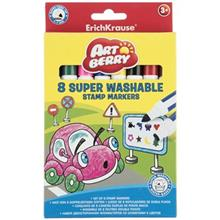 ErichKrause Super Washable Stamp 8 Color Painting Marker
