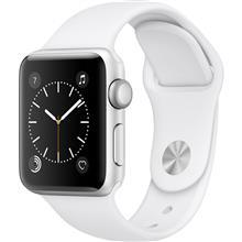 Apple Watch 2 38mm Silver Aluminum Case with White Sport Band