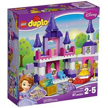 لگو سری duplo مدل sofias royal castle