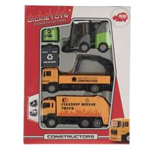 Dickie Toys Constractor 2 Asst Car Kit