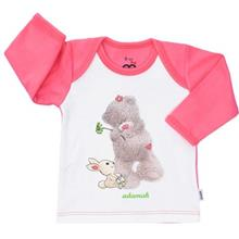 Adamak Woolly Bear Baby T Shirt With Long Sleeve
