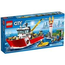 Lego City Fire Boat 60109 Toys