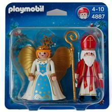 ساختني پلي موبيل مدل Saint Nicholas and Angel 4887