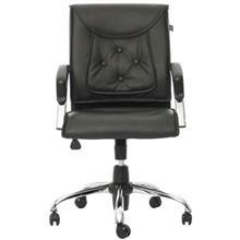 صندلی اداری راد سیستم مدل M411K چرمی