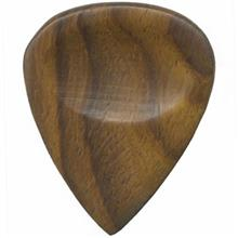 Clayton Exotic Sheesham DWS3  Guitar Wood Picks 3 Pack