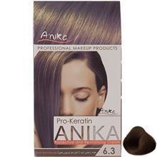 کيت رنگ مو آنيکا سري Pro Keratin مدل Matt شماره 6.3