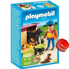 ساختني پلي موبيل مدل Dog House Playset 5125
