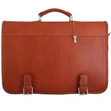 کیف دستی چرم طبیعی گالری مثالین مدل 24004