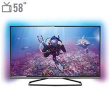 تلويزيون ال اي دي هوشمند فيليپس مدل 58PUT8509 - سايز 58 اينچ