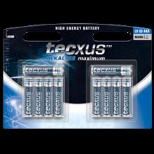 tecxus AAA / LR03 Battery - 8+2pc pack