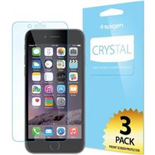 Spigen Crystal Screen Protector For Apple iPhone 6 Plus/6s Plus Pack Of 3
