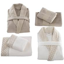 Sarev 6 Pieces Pamela Bathrobe Towel Set