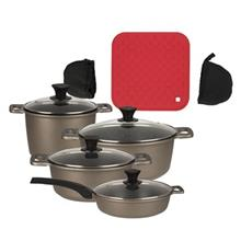 Nab Steel Royal Cookware Set 10+3 Pieces