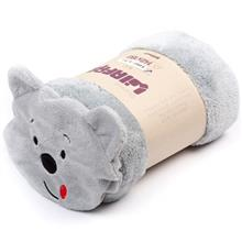 Afra Gray Pooh Bear Baby Blanket